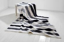 Koc Moca 150x200cm Stripes Grey