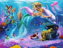 Tapeta 3D Walltastic - Mermaids